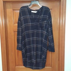 ASTR Flannel Dress